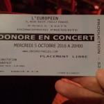 Théâtre de l'Européen Paris